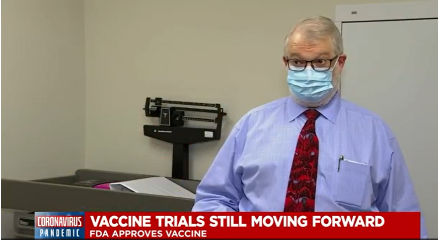 COVID Vaccine Trials Continue at CRA